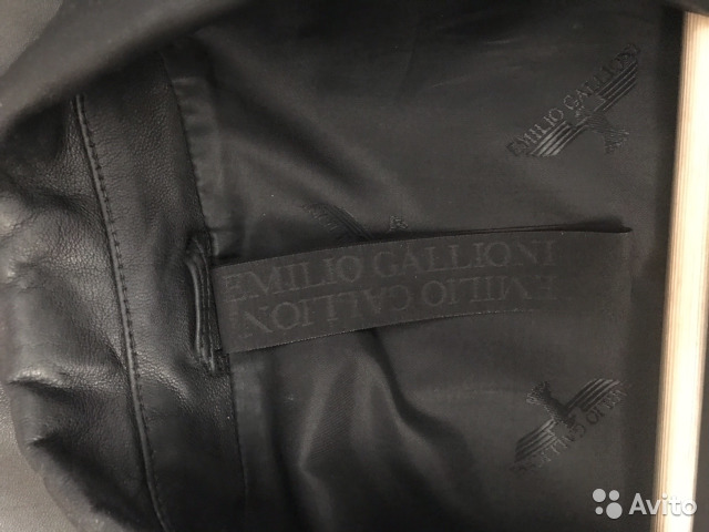 Кожаный пиджак 89049715474 купить 3