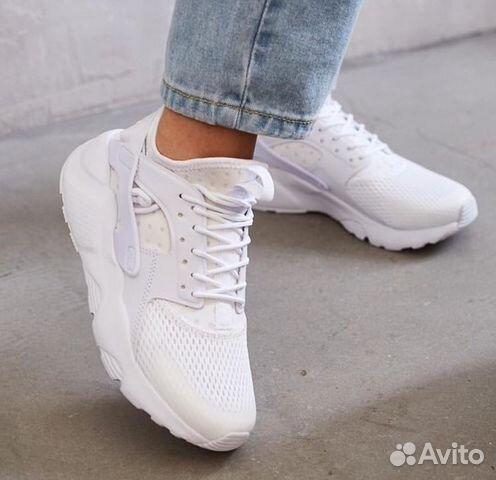 32cbfef6 Кроссовки Nike Huarache Ultra White купить в Москве на Avito ...
