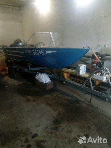 Продам лодку с прицепом купить 1