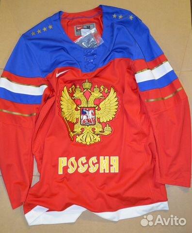 7b8c0182 Хоккейная майка / свитер сборной России (М) купить в Москве на Avito ...