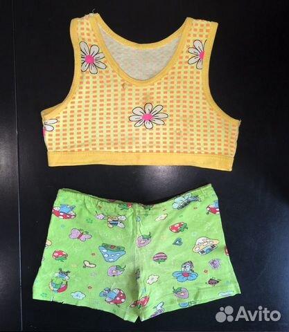 Топик, шорты детские 89674702177 купить 1