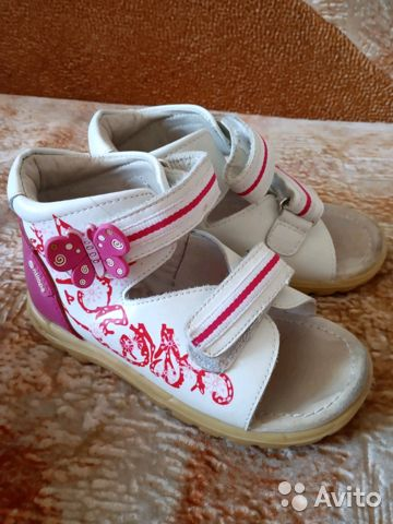 a0f77949fec99 Продам детские ортопедические сандали р. 26 купить в Омской области ...