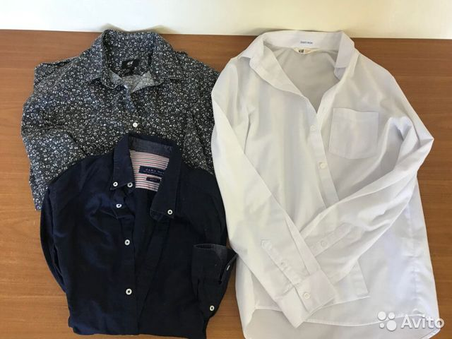 Рубашки Zara Man H&M