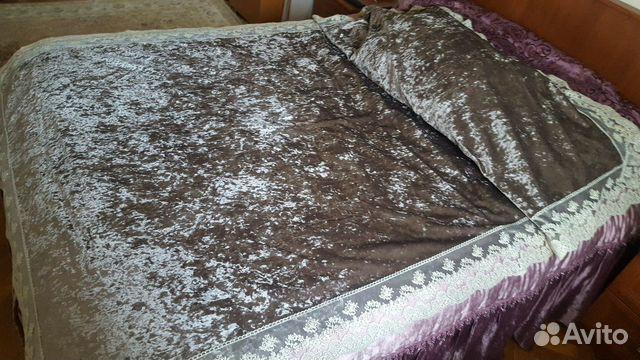 Покрывало на кровать, накидка на диван, скатерть в купить 4