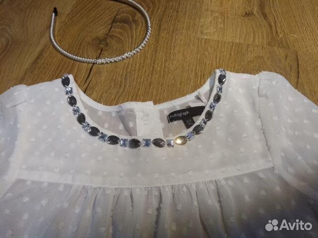 Блузка M&S на 8-10 купить 4
