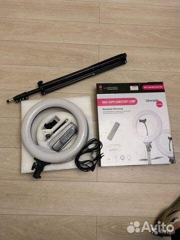 Кольцевая лампа 89527999199 купить 3