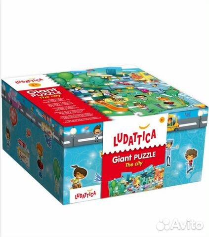 Гигантский пазл Ludattica  89043087375 купить 2