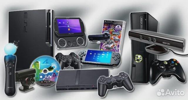 Ремонт / Сброс / Игровые приставки / Телефоны