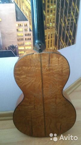 Гитара старинная мастеровая(раритет 1880 года) 89538598168 купить 4