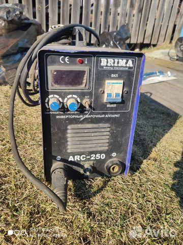 Инверторный сварочный аппарат brima ARC-250