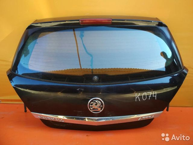 84732022776 Дверь багажника со стеклом Opel Astra H (2004-2015