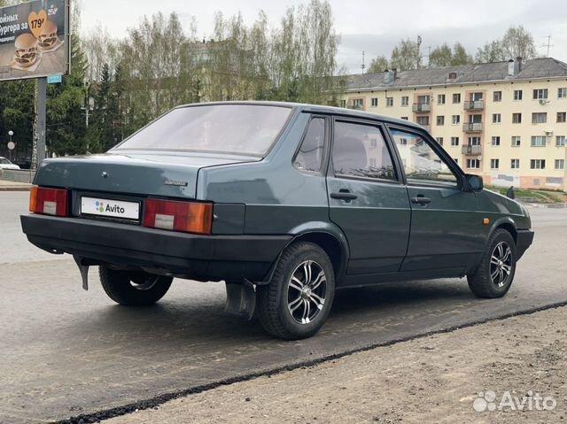 VAZ-21099, 2001 köp 5