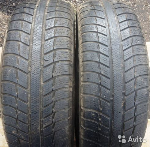 Michelin Alpin 215-55-R16 2 шт— фотография №1