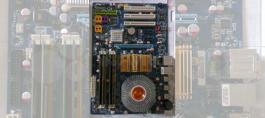 Материнская плата, процессор, оперативная память