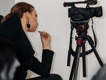 Видеокамера + сумка + карта + штатив + чехол — Аудио и видео в Казани