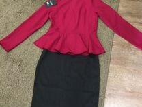 Кофта+юбка 44 размер новый костюм