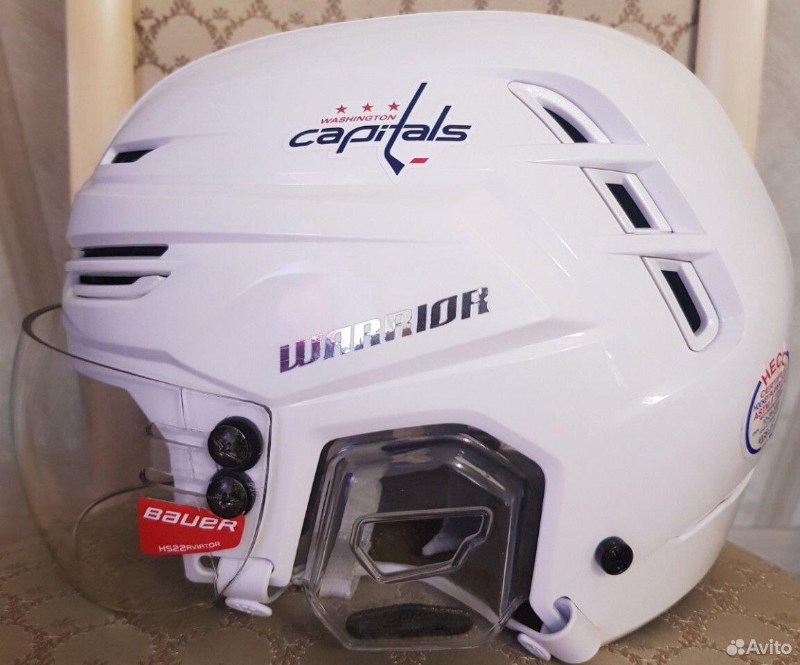 Топовый хоккейный шлем Warrior alpha one. Размер M  89143382906 купить 4