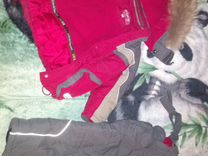 Детский комбинезон+куртка