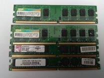 Dimm DDR2 2*2гб + 2*1гб (цена за все)