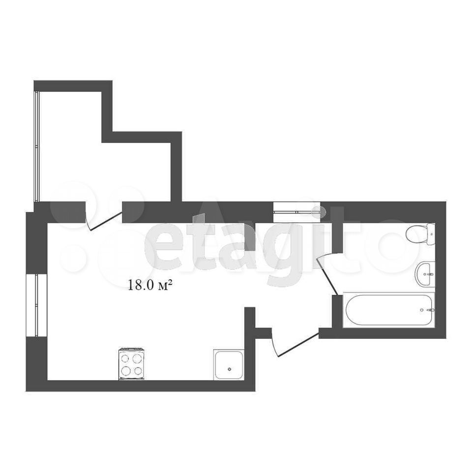 Комната 25 м² в 1-к, 3/5 эт.  89121707519 купить 7
