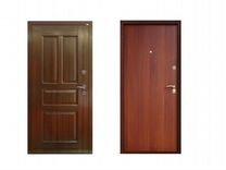 Двери входные с панелью мдф и ламинатом