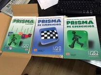 Prisma A2 (учебник испанского, тетрадь, диск CD)