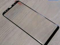 Защитное стекло на SAMSUNG Note 8 чёрное