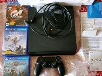Sony PS4 1tb, чек, гараниия, полный комплект