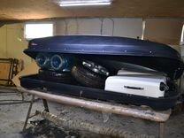 Автобокс Vetlan 1100л черный на Citroen C3 Aircros