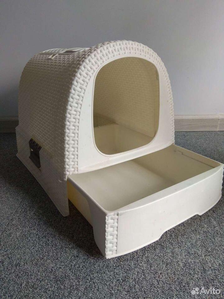 Закрытый туалет для кошек  89114656461 купить 3