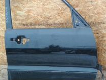 Дверь Mitsubishi Pajero 3 перед. прав. Чёрная