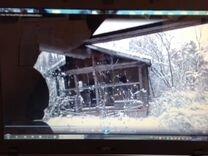Сруб баня, дом из оцилиндрованного бревна 6х4 м