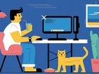Менеджер онлайн. работа дома