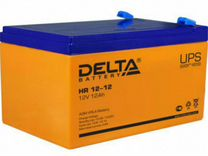 Аккумулятop delta akб 12ah 12V