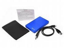 "Внешние корпусы 2.5"" Gembird EE2-U2S-40P-B USB 2.0"
