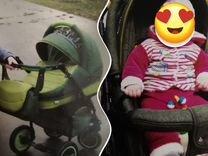 Продаю коляску Адамес 2 в 1,в нормальном состоянии — Товары для детей и игрушки в Великовечном