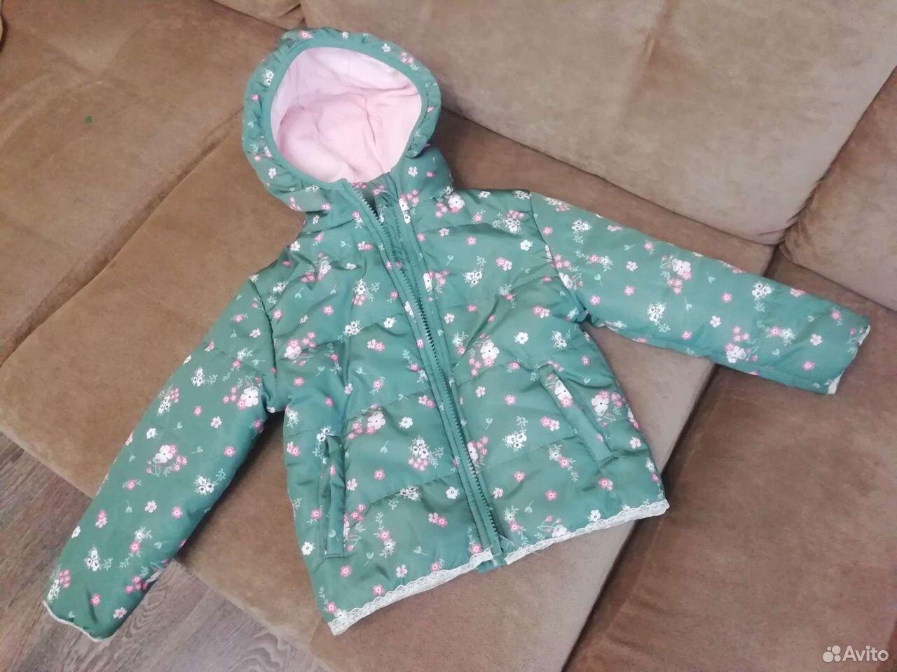 Куртка демисезонная для девочки  89141202061 купить 1