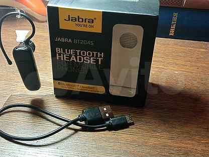 Bluetooth-гарнитура Jabra BT2045