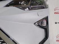 Передний бампер Toyota Camry Lexus +фары Lambo v55