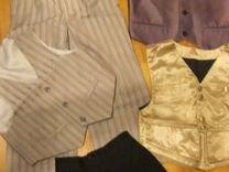 Костюм, шорты, жилетки на праздник