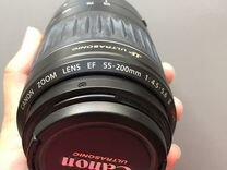 Объектив ultrаsonic Canon еf 55-200mm f/4.5-5.6 II