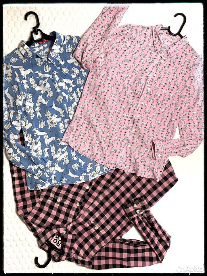 Рубашки веселые xs