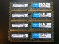 Серверная 16Gb PC3L-10600R PC3-12800R 14900R HP