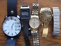 Винтажные вещи: портсигар,часы,запонки,приемник