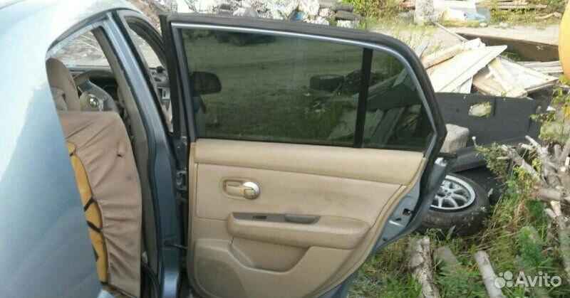 Дверь задняя правая Nissan Tiida latio HR15DE 2005  89534094813 купить 3