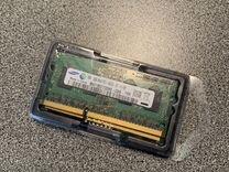 Оперативная память DDR3 sodimm 1333 2 x 2gb