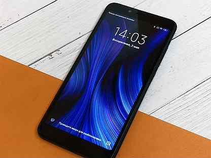 3/64 Xiaomi Redmi 6 / 8 ядер / Сканер отпечатка